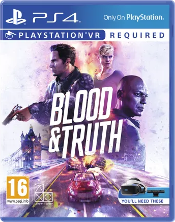 Boxart van Blood & Truth (PSVR) (PS4), SIE London Studios