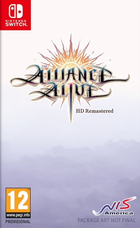 Boxart van The Alliance Alive - HD Remastered (Switch), NIS America