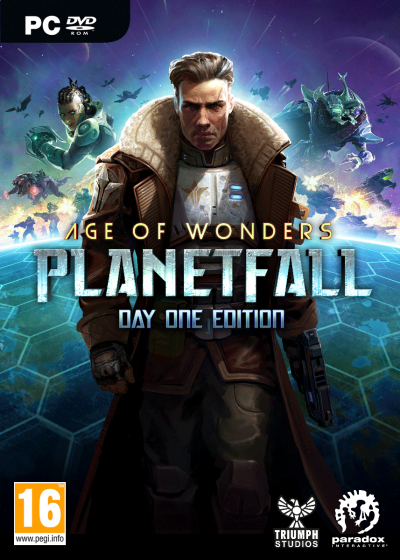 Boxart van Age of Wonders: Planetfall - Day One Edition (PC), Paradox