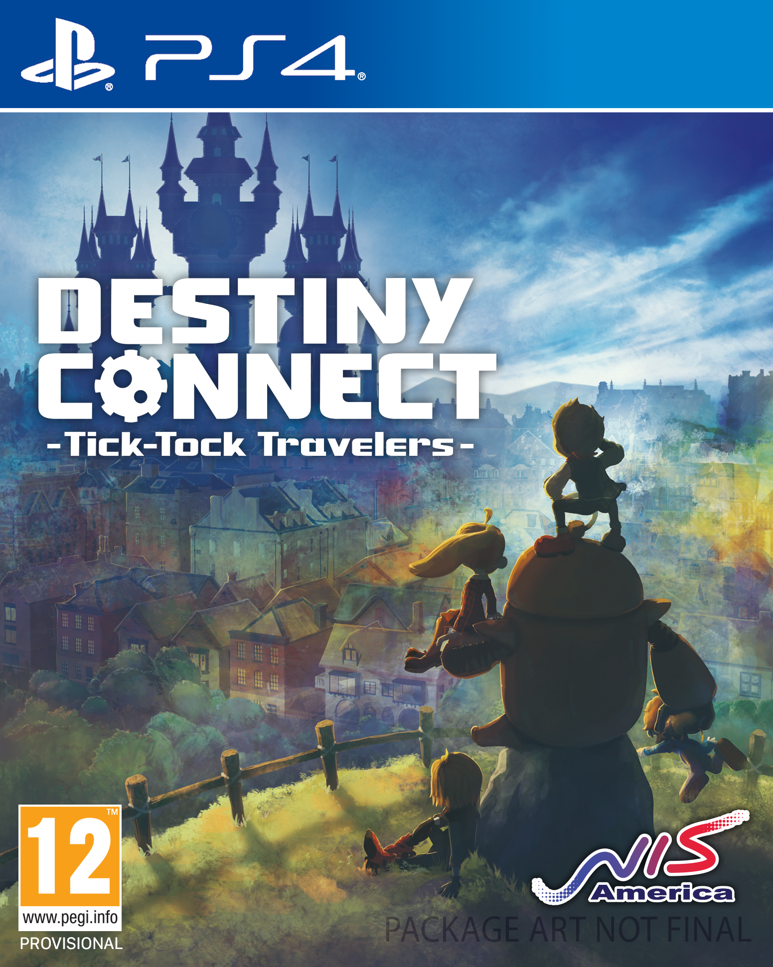 Boxart van Destiny Connect: Tick-Tock Travelers (PS4), Nippon Ichi Software, Inc.