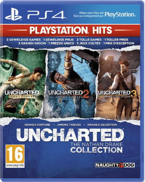 Boxart van Uncharted: The Nathan Drake Collection (PlayStation Hits) (PS4), Sony Computer Entertainment