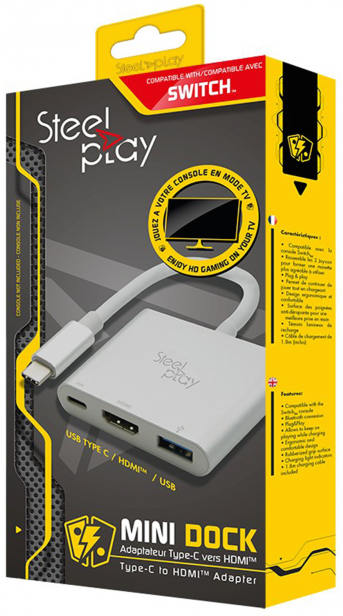 Boxart van Steelplay Mini Dock - Switch (Switch), Steelplay