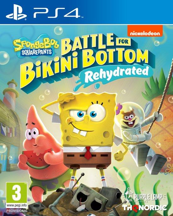 Boxart van Spongebob SquarePants: Battle for Bikini Bottom - Rehydrated (PS4), Purple Lamp Studios