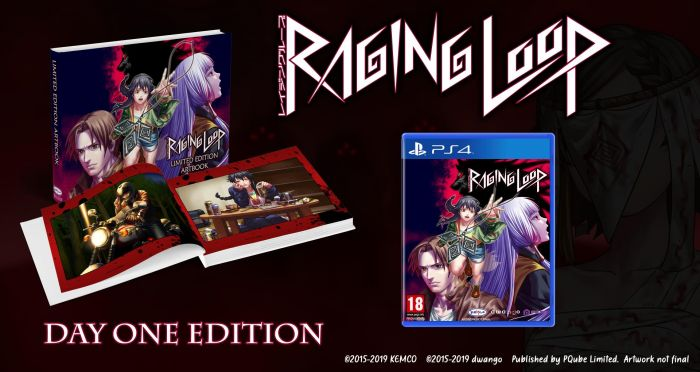 Boxart van Raging Loop - Day One Edition (PS4), Pqube