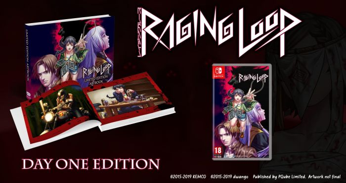 Boxart van Raging Loop - Day One Edition (Switch), Pqube