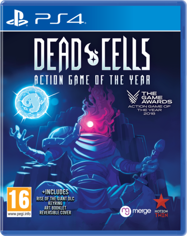 Boxart van Dead Cells - Action Game Of The Year Edition (PS4), Merge Games