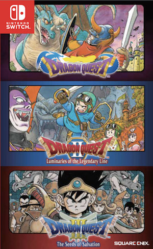 Dragon Quest Collection (1+2+3) (Asia Import)