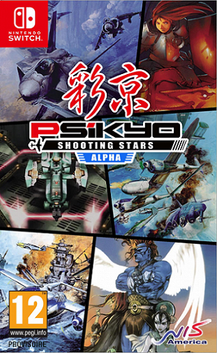 Boxart van Psikyo Shooting Stars - Alpha Limited Edition (Switch), City Connection co. ltd