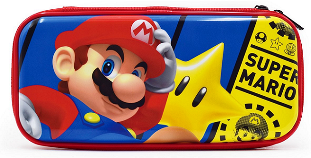 Boxart van Beschemhoes Nintendo Switch Hori Premium Vault Case - Mario (Switch), Hori