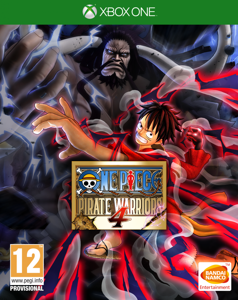 Boxart van One Piece Pirate Warriors 4 (Xbox One), Bandai Namco