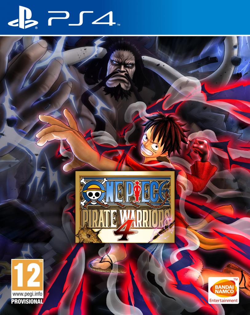 Boxart van One Piece Pirate Warriors 4 (PS4), Bandai Namco