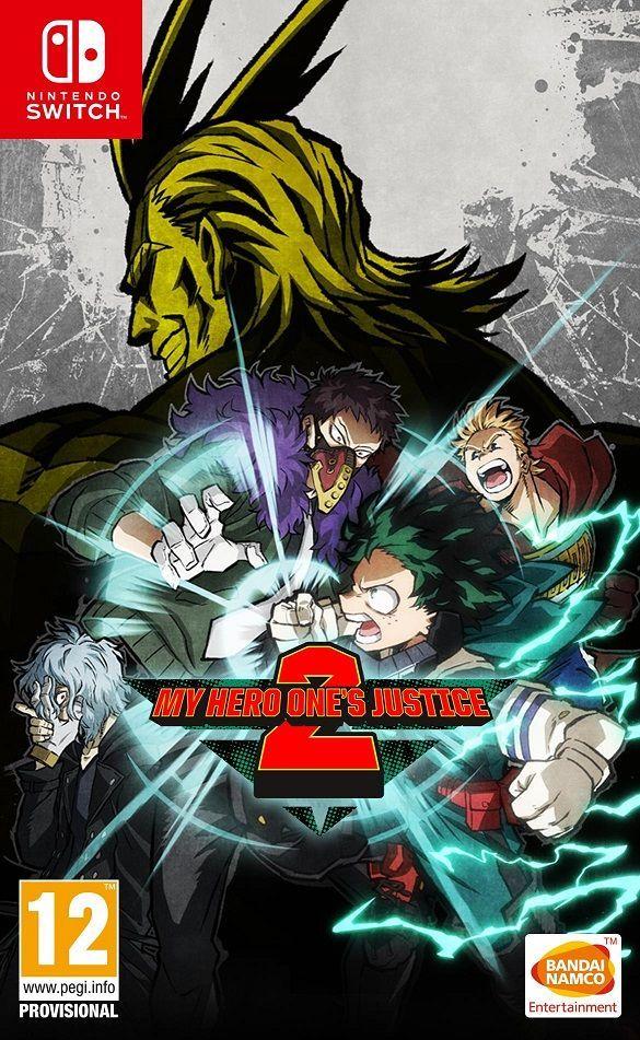 Boxart van My Hero One's Justice 2 (Switch), Byking
