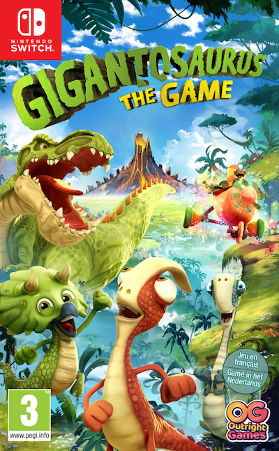 Boxart van Gigantosaurus the Game (Switch), Outright Games