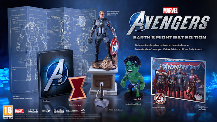 Boxart van Marvel's Avengers - Earths Mightiest Collector's Edition (PS4), Square Enix