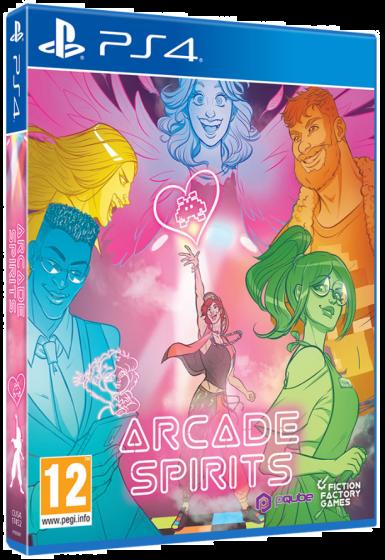 Boxart van Arcade Spirits (PS4), Pqube