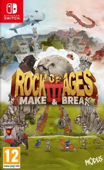 Rock of Ages 3: Make & Break (Switch), ACE Team, Giant Monkey Robot