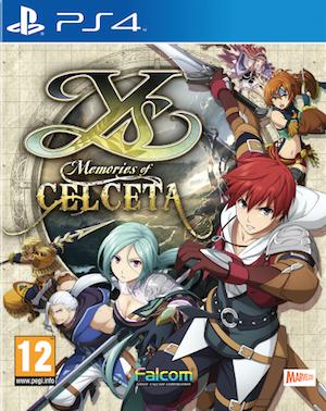 Boxart van Ys: Memories of Celceta (PS4), Marvelous AQL