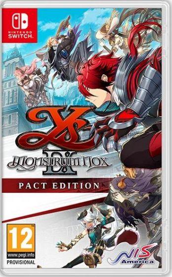 Boxart van Ys IX: Monstrum Nox - Pact Edition (Switch), NIS America