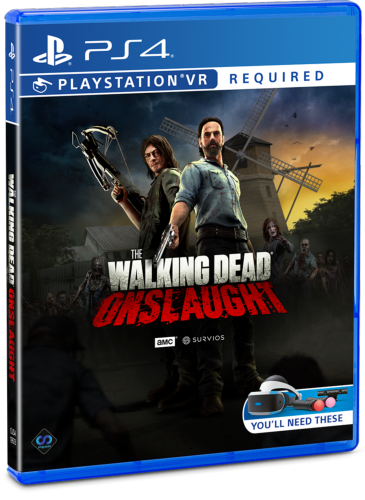 Boxart van The Walking Dead: Onslaught (PSVR) - Standard Edition (PS4), Survios