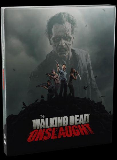 Boxart van The Walking Dead: Onslaught (PSVR) - Steelbook Edition (PS4), Survios