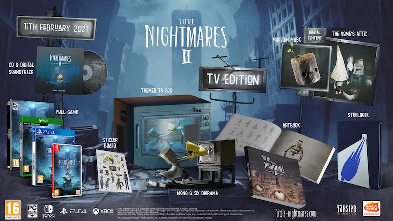 Boxart van Little Nightmares II - TV Edition (PS4), Tarsier Studios