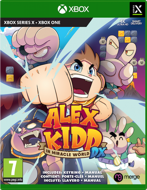 Alex Kidd in Miracle World DX (Xbox Series X), Merge Games