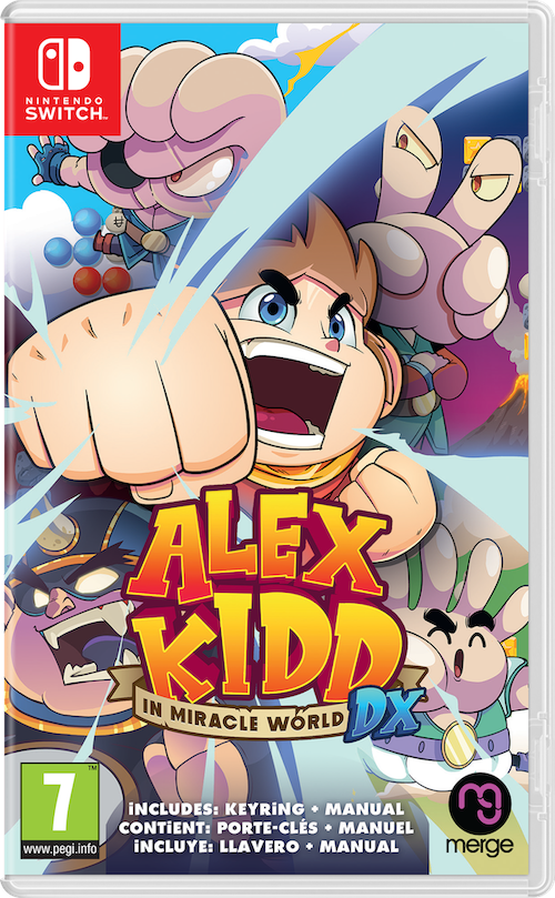 Alex Kidd in Miracle World DX (Switch), Merge Games