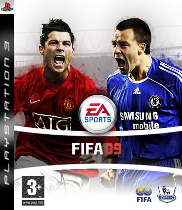 Boxart van FIFA 09 (PS3), EA Sports