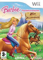 Boxart van Barbie Paardenavonturen: Het Paardrijkamp (Wii), Activision