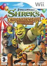 Boxart van Shrek Crazy Kermis Party Games (Wii), Activision