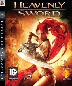 Boxart van Heavenly Sword (PS3), Ninja Theory